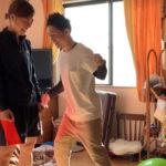 元なでしこ!女子プロサッカー選手土井成実さんのシックスパック作戦に腹筋パンチ!