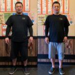 """2週間で体重6キロダウン!出張""""ペア""""パーソナルトレーニング岩倉市馬肉屋あらおのオーナー夫婦"""
